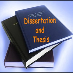 Thesis or Dissertation Publishing at ijarbas.com